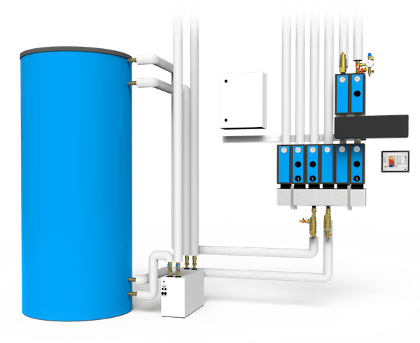 Schichtspeicher-System Sandler
