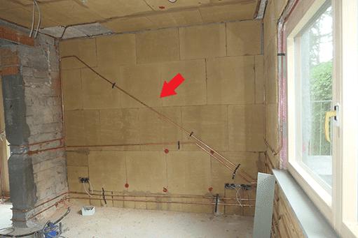 Bauteiltemperierung Treppe (Symbolbild)